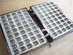 カステラ焼き器(電気式100V用)【米俵型45コ焼】