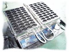 カステラ焼き器(電気式100V用)【ミニタイ型40匹焼】
